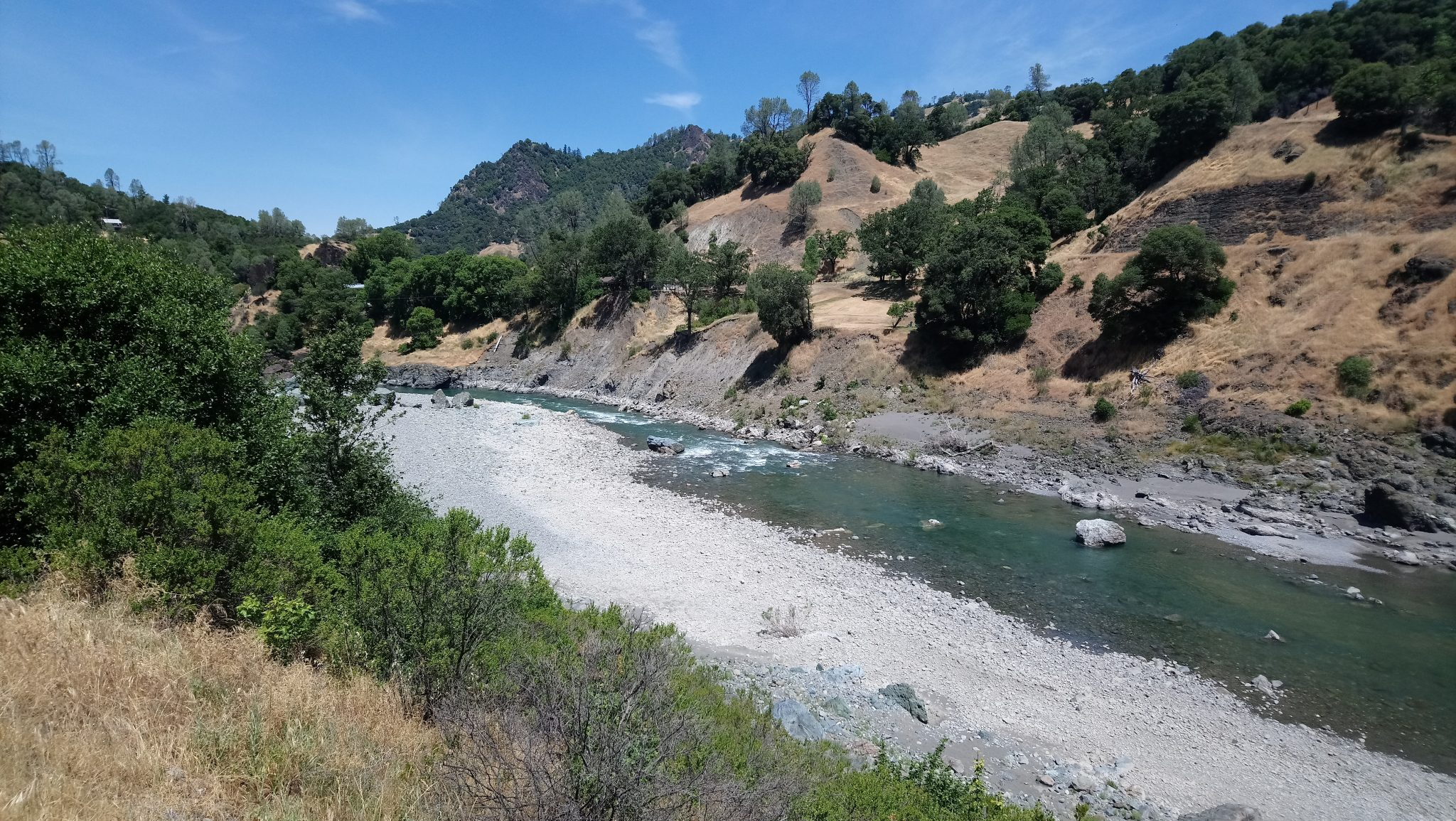 Mendocino National Forest Backing on the Eel River