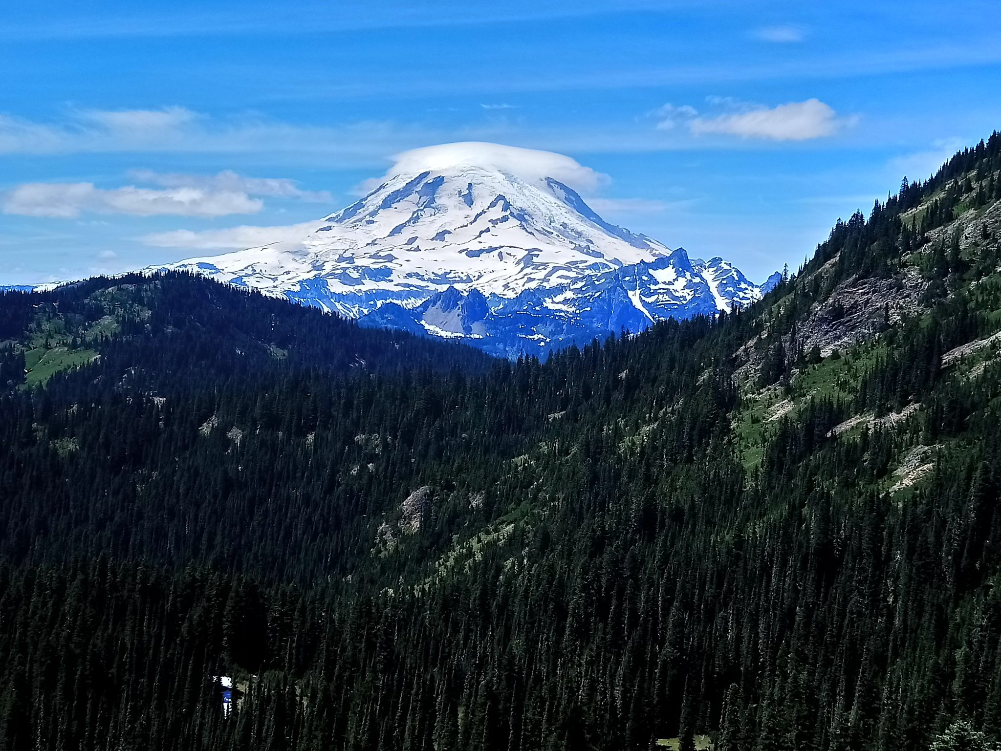 Mt. Rainer from the Pacific Crest Trail