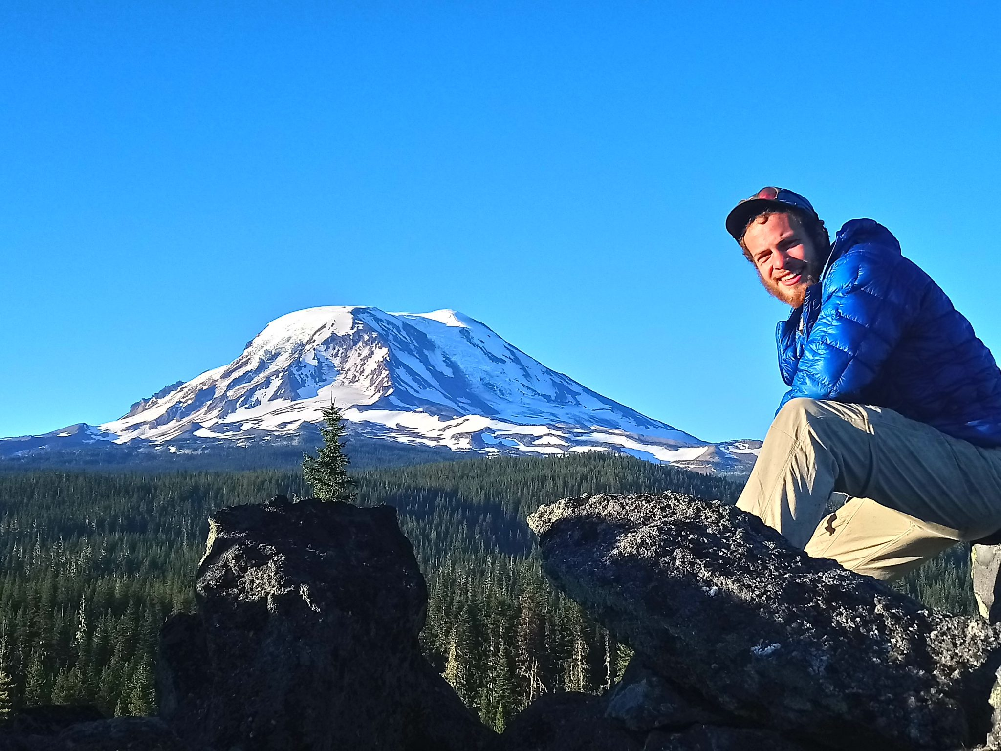 Mount Adams from the Pacific Crest Trail