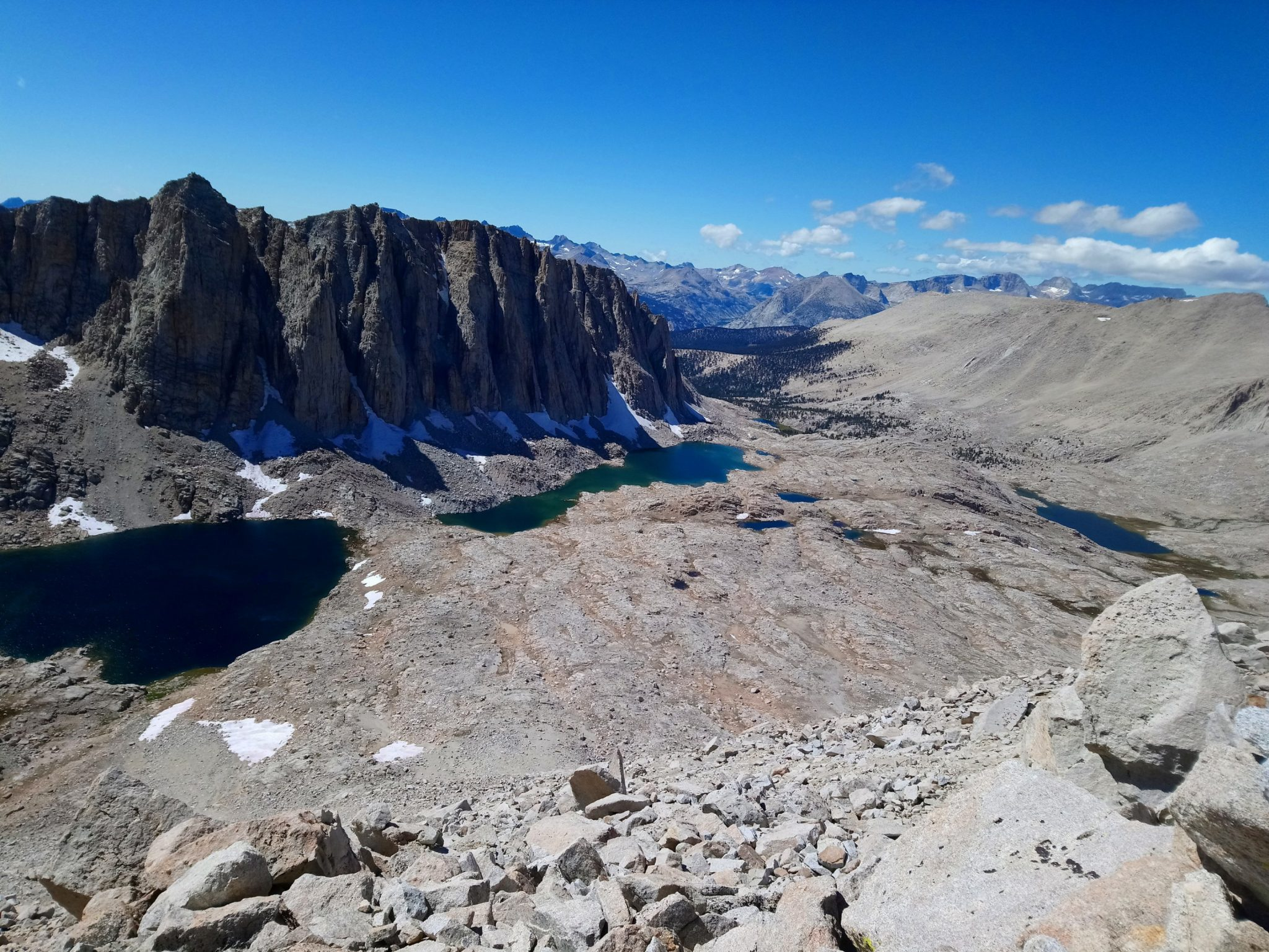 View from Mt. Whitney approach