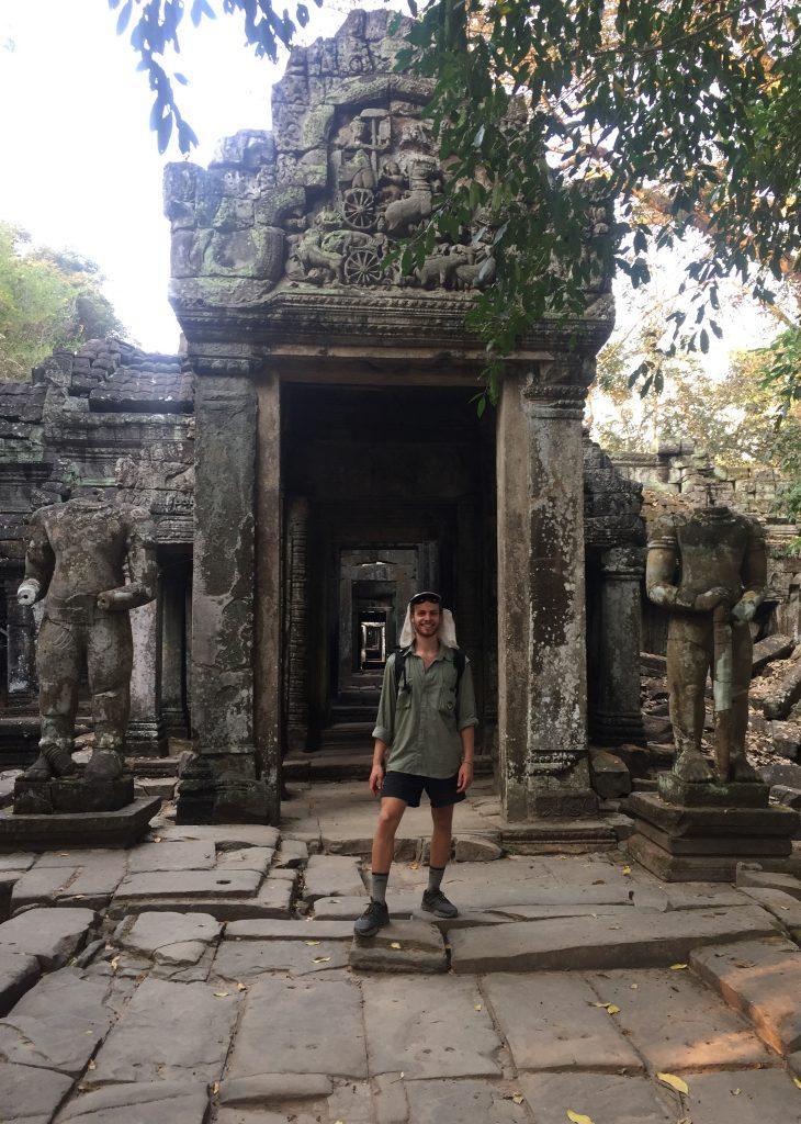 Entrance Temple, Siem Reap