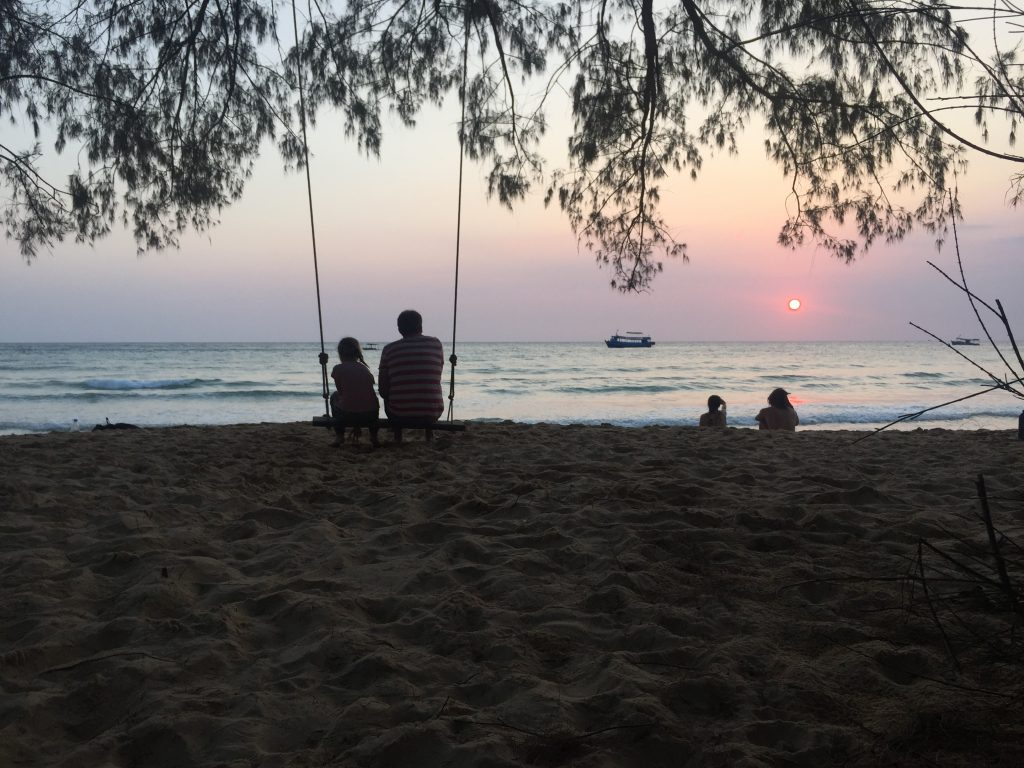 Sunset Lazy Beach